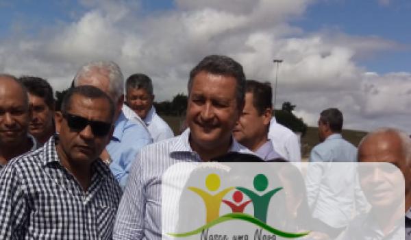 Imagens da Prefeito Ivan participa da inauguração de escola estadual em Lajedinho com a presença do Governador Rui Costa