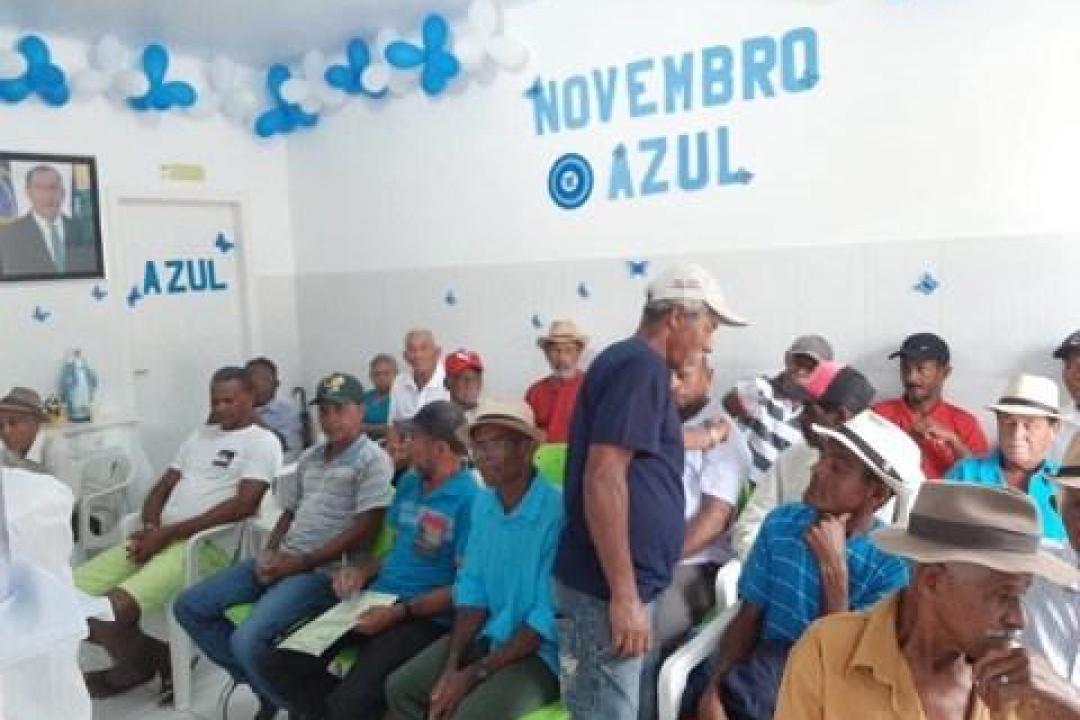 Imagens da PREFEITURA DE IBIQUERA PROMOVE AÇÃO DE PREVENÇÃO AO CÂNCER DE PRÓSTATA EM ALUSÃO A CAMPANHA NOVEMBRO AZUL