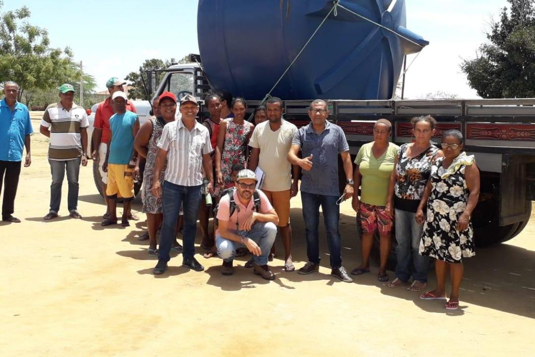 Imagens da Prefeito Ivan Almeida Visita Assentamento Munduri e Leva Novidades para Comunidade