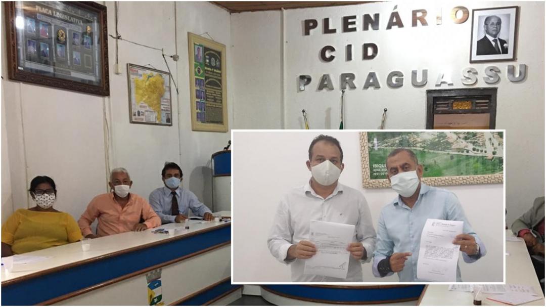 A Prefeitura Municipal de Ibiquera Recebeu da Câmara de Vereadores o Valor de 25 Mil Reais para Aquisição de Cestas Básicas