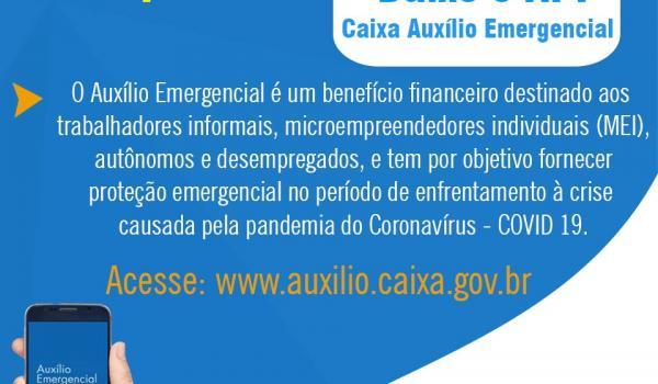 Aplicativo de auxílio emergencial de R$ 600 já está disponível para cadastro