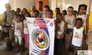 Começaram as aulas do Programa Educacional de Resistência a Drogas e Violência – Proerd na rede municipal de ensino em Ibiquera