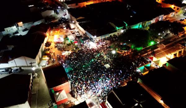 Confira todas as imagens aéreas feitas por drone durante a Festa de Vaqueiros e Aniversário da Cidade