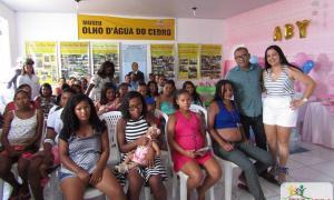 CONFRATERNIZAÇÃO MARCA O ENCERRAMENTO DO GRUPO DE GESTANTES MAMÃES DE PLANTÃO DE IBIQUERA-BA