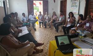 CRAS de Ibiquera realiza a 1° Capacitação Interna da Proteção Social Básica de 2019