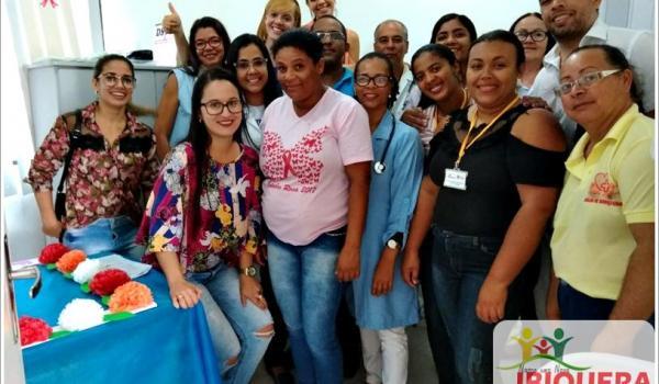 Dia das Mães é celebrado em grande estilo pela Secretaria de Saúde de Ibiquera