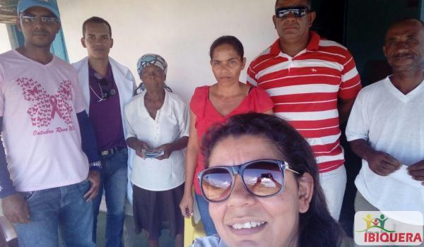 Equipe do Programa Saúde em Movimento atende pacientes na região do Rio Seco