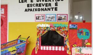 Escola Municipal Deputado Luiz Eduardo Magalhães realizou a culminância do projeto de leitura e o festival de inglês
