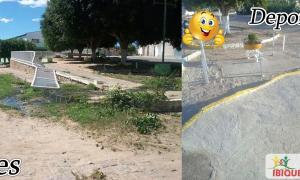 Fossa a céu aberto há mais de oito anos em Ibiquera, a Gestão Nasce uma Nova Ibiquera Resolveu o problema!
