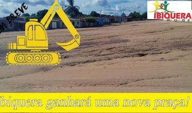 Prefeito Ivan Almeida consegue emenda para construção de uma nova praça no município de Ibiquera