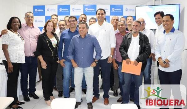 Prefeito Ivan Almeida Participa de Reunião para Criação do Consorcio Publico de Saúde da Região Piemonte do Paraguaçu