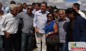 Prefeito Ivan participa da inauguração de escola estadual em Lajedinho com a presença do Governador Rui Costa