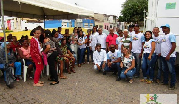 PREFEITURA DE IBIQUERA REALIZA III FEIRA MUNICIPAL DA SAÚDE