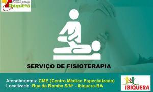 Prefeitura garante atendimento de fisioterapia para a população Ibiquerense