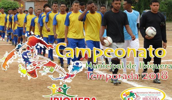 Prefeitura Municipal dá Início ao Campeonato Municipal de Futebol Temporada 2018