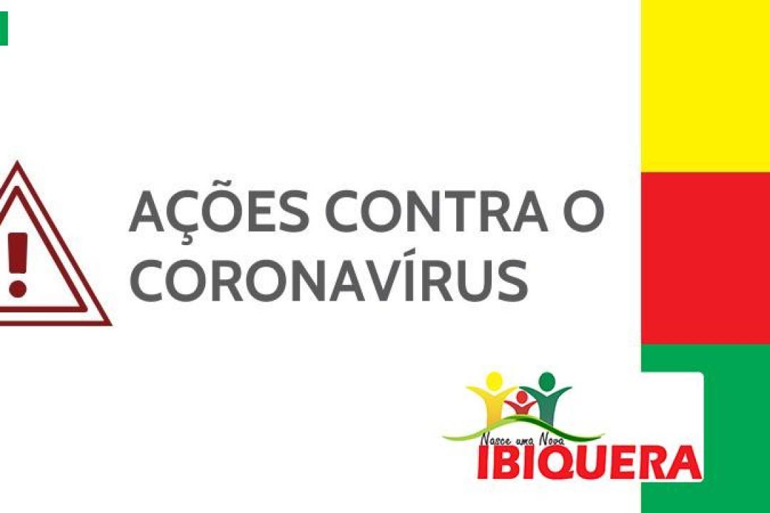 A Prefeitura Municipal de Ibiquera está totalmente comprometida na luta contra Coronavírus COVID-19