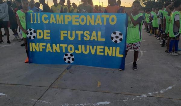 Prefeitura Municipal e Secretaria de Assistência Social Realizam III Campeonato Infanto-Juvenil em Ibiquera