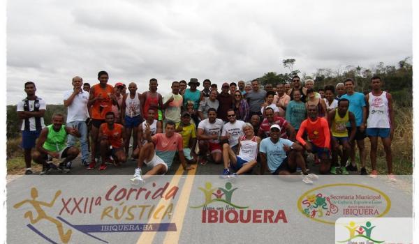 Prefeitura Municipal Realiza a Tradicional Corrida Rustica na Comemoração dos 60 anos de Ibiquera.