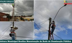Prefeitura Municipal Realiza Manutenção na Iluminação Pública da Cidade