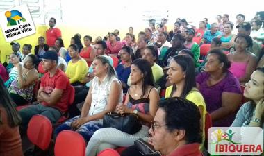 Prefeitura retoma as obras do projeto minha casa minha vida em Ibiquera