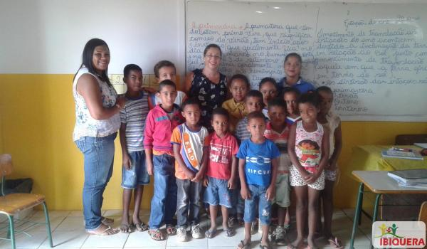 Secretária de Educação e Coordenadora visitam escolas Municipais de Ensino no Campo
