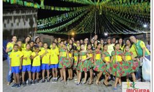 Secretaria de Educação faz abertura do São João de Ibiquera 2018 com apresentações das Escolas do Município