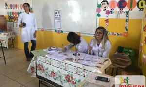 SECRETARIA MUNICIPAL DE SAÚDE DE IBIQUERA REALIZA ATIVIDADES DO PROGRAMA SAÚDE NA ESCOLA